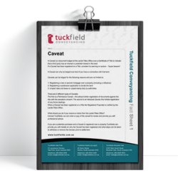 1. Caveat Fact Sheet | Tuckfield Conveyancing