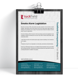 6. Smoke Alarm Legislation Fact Sheet | Tuckfield Conveyancing