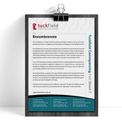 7. Encumbrances Fact Sheet | Tuckfield Conveyancing