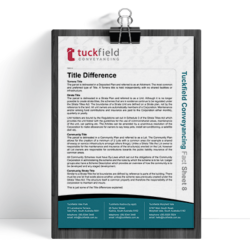 8. Title Difference Fact Sheet | Tuckfield Conveyancing