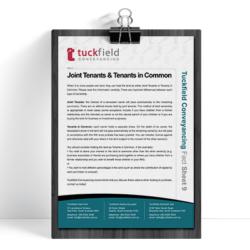 9. Joint Tenants Fact Sheet | Tuckfield Conveyancing